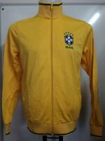 Brazil Zip Thru Track Top Adults Size Xxl Official Merchandise Brand