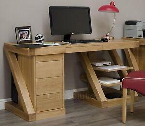 Z-solid-oak-designer-furniture-large-office-PC-computer-desk
