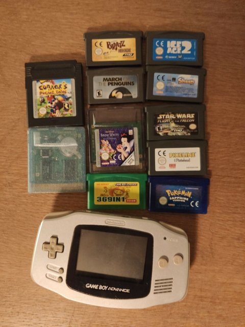 Nintendo Gameboy advance, God, Sælger denne Gameboy Advance…