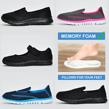 Womens MEMORY FOAM  Airtech Caravelle Superlite Trainers From  £12.99 FREE P&P
