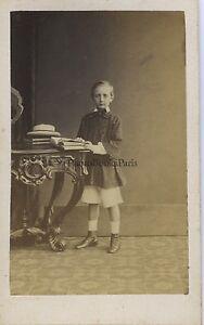 F. Deron Foto Bruxelles Belgium CDV Vintage Albumina Ca 1860