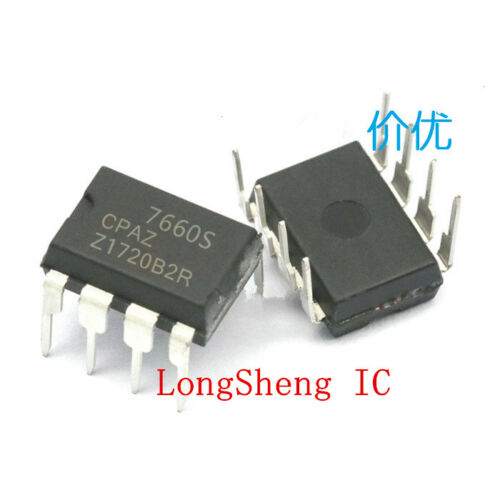 50 PCS ICL7660SCPAZ DIP-8 ICL7660 7660S CPAZ Converters new
