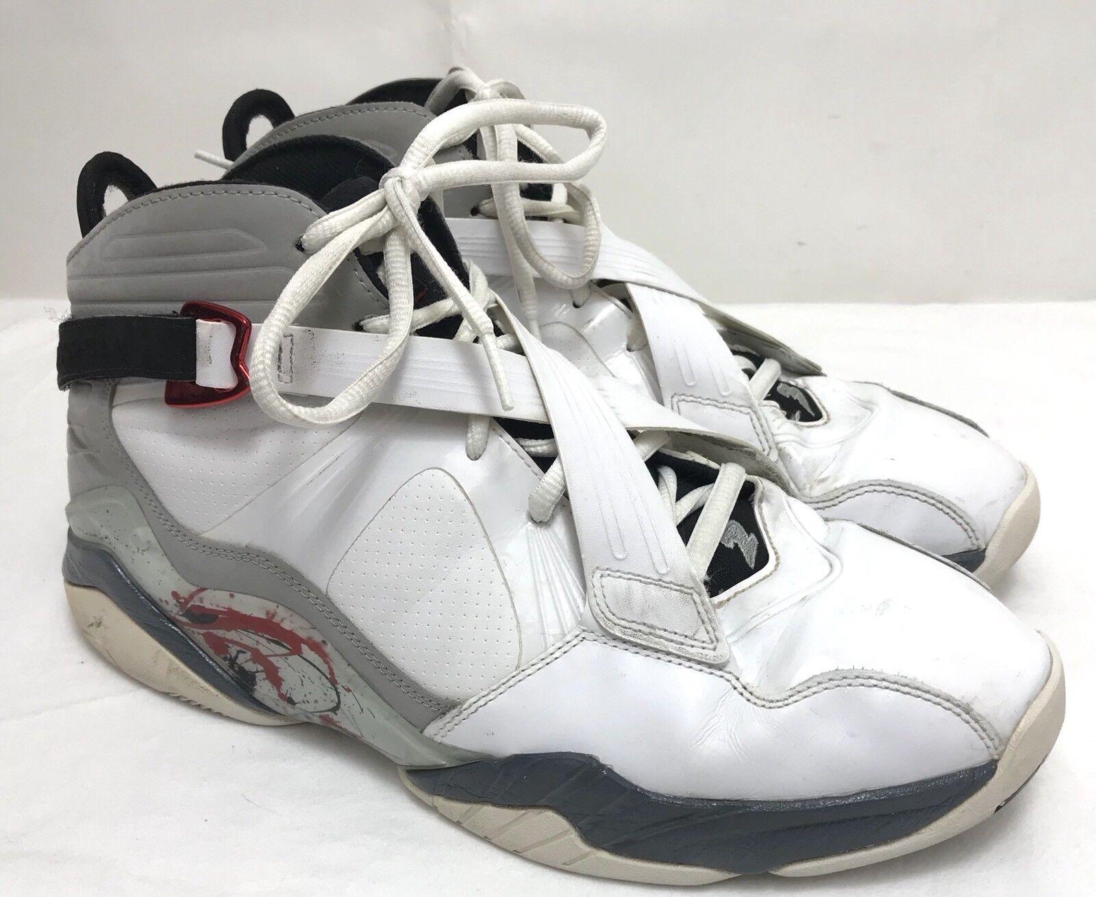Hombre Blanco nike air Jordan 467807-105 Blanco Hombre & Gris baloncesto zapatos tamaño 11,5 Wild Casual Shoes fd375b