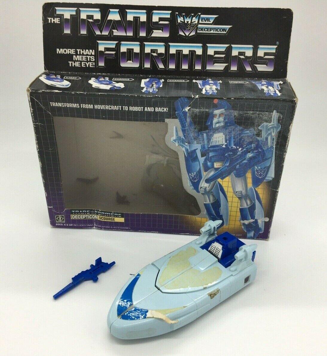 tienda de ventas outlet Transformers azote, En Caja, Caja, Caja, Robot, Decepticon, Autobot, Vintage, Retro  costo real