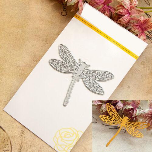 Dragonfly Cutting Dies Stencil DIY Scrapbooking Album Paper Card Embossing Craft