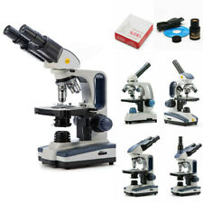 Swift Monocular Binocular Trinocular Lab Compound Microscope Usb Camera Acc