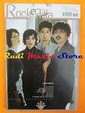 rivista ROCKERILLA GIU/2008 Ladytron Matmos Charlatans Tiromancino Allevi No cd