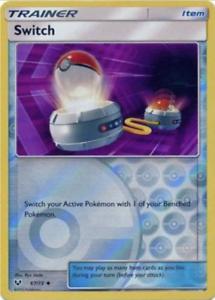 Pokemon  3X Switch Shining Legends -NM//M 67//73 Reverse Holo
