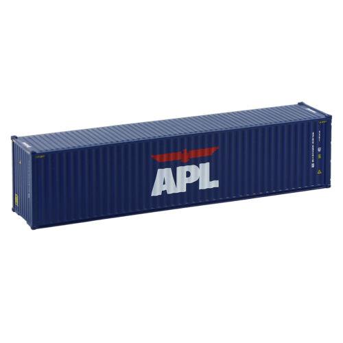 150 Schiffscontainer  Güterwagen Modellbahn 40ft N Container 1