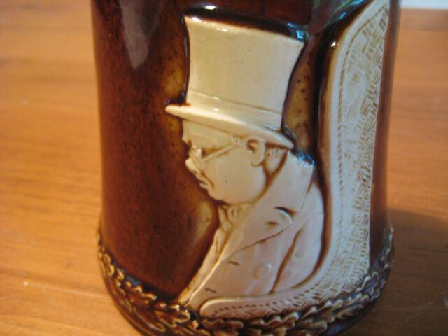 VINTAGE DUMLER & BREIDEN CERAMIC BEER STEIN / MUG C 1930-1936 # 2196