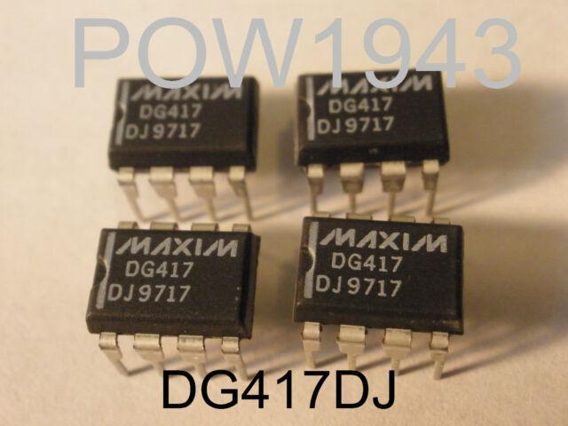 5PCS DG419DJ  Encapsulation:DIP-8,Precision CMOS Analog Switches
