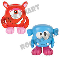 5.5 Handmade Ceramic One-eyed Monster Coin Bank Red Or Blue Ages 6+ Rm1068