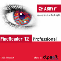 ABBYY FineReader 12 Professional Download 1 PC DE EU