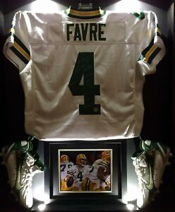 watch 59db4 4c52f Details about MNF OT WIN Brett Favre Game Worn Used Signed Packers NFL  Football Jersey BF LOA