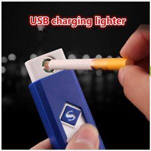 bj-ACCENDINO-ACCENDISIGARI-NO-GAS-FIAMMA-USB-RICARICABILE-ANTIVENTO-ELETTRONICO