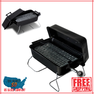 New Grill Gas Portable Table Top Small Travel Cooking BBQ Outdoor Camping 187 Sq