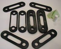 Soloflex Replacement Band Set-4 Pairs: 25lb, 10lb, 5lb & 2.5lb Pairs-85lbs Total