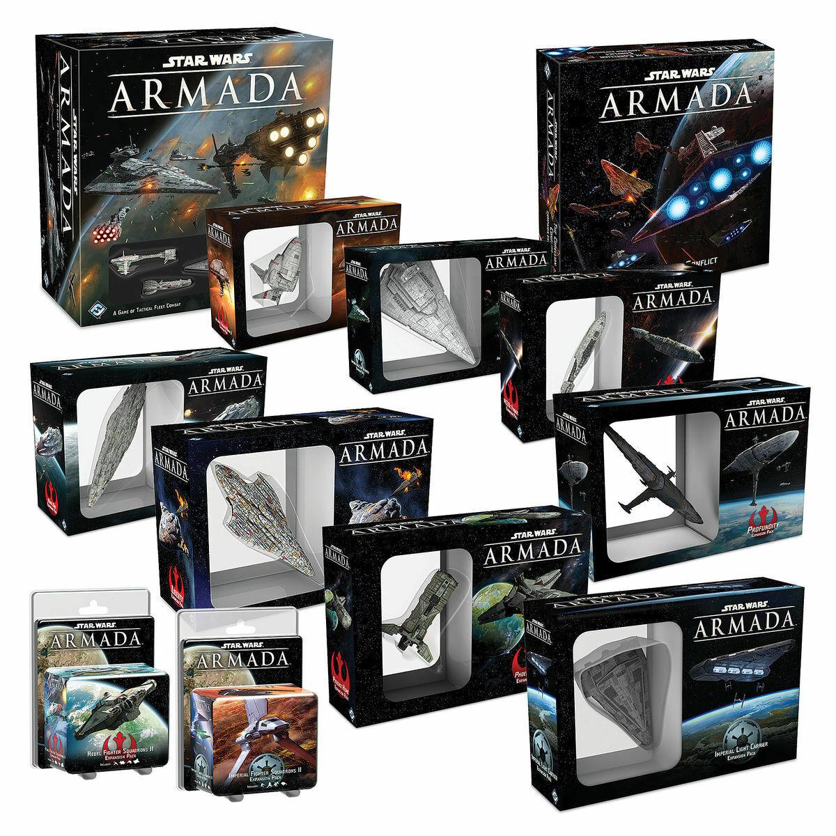 Star Wars ARMADA - Core Set, Expansions, Mats, Feldherr Foam Multi-Listing - NEW