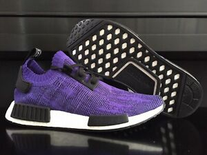 low priced ee567 eb25b Details about RARE ADIDAS NMD R1 BOOST ORIGINAL PURPLE WHITE BLACK US MEN  12 EUR 46 2/3 NEW DS