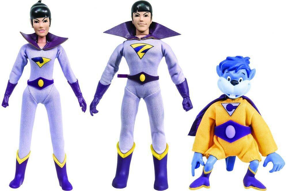 DC World's Greatest Heroes  The Wonder Twins & Gleek Retro Action Figures