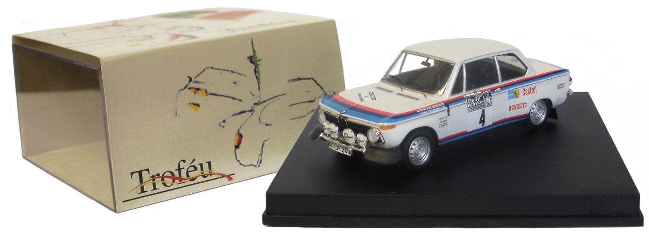 Trofeu 1711 BMW 2002 RAC Rally 1973-B Waldegaard SCALA 1/43