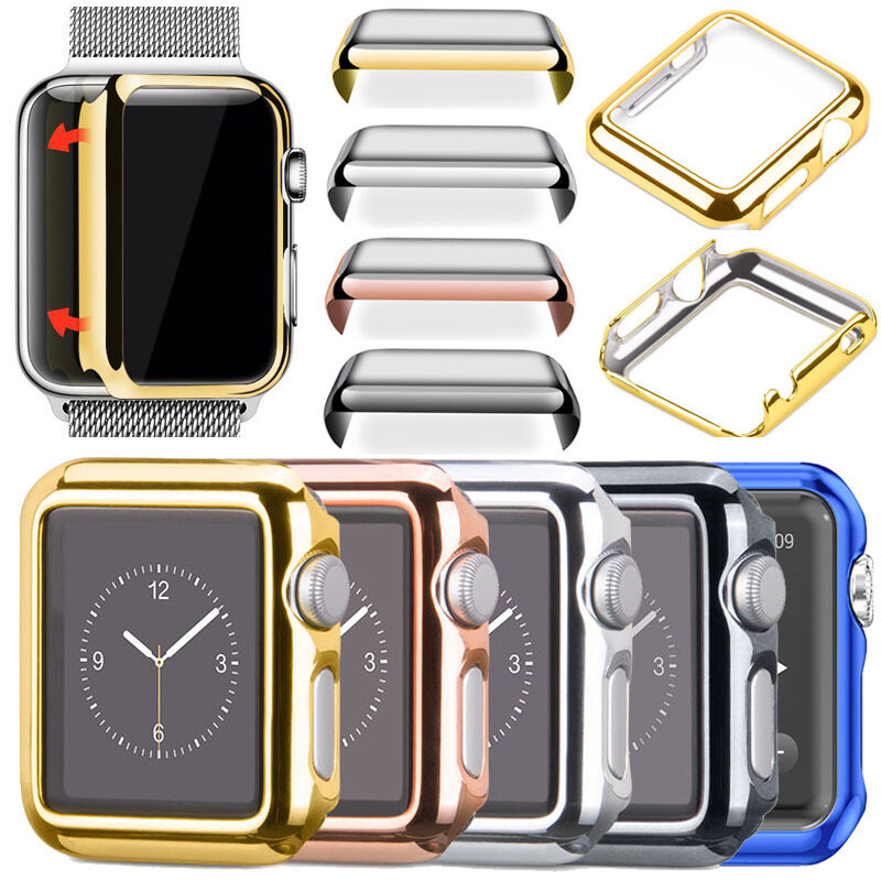 Stainless Steel Band Strap + Case Cover For Apple Watch Series 4 3 2 40mm 44mm 7