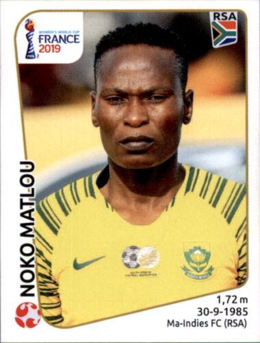 Südafrika Panini Frauen WM 2019 Sticker 164 Noko Matlou