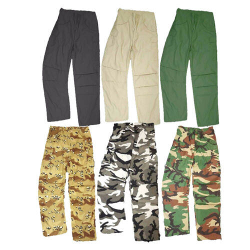 Combat Trousers Combat Military M65 Style Cargo US Army Work Baggy Long Pants