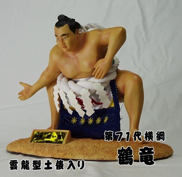 Sumo Wrestler Figure Yokozuna Kakuryu Ring-Entering Ceremony Unryu-Style