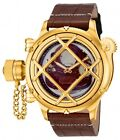New Men's Invicta 14820 Russian Diver Swiss Mechanical Copper Dial Brown Watch