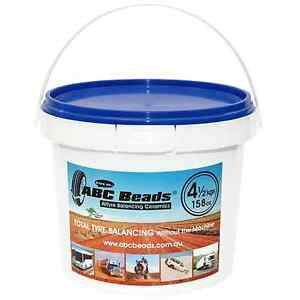 ABC-Tyre-Tire-Balancing-Beads-4-5kgs-158oz-Bucket-M-cycle-4WD-Truck-Trailer