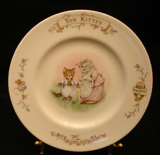 """World of Beatrix Potters by Royal Albert CHILD's PLATE 8"""""""