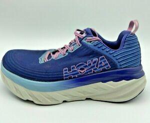 Womens Bondi 6 Blue Running Shoes Size