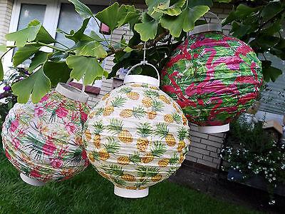2x Groß Folienballon Luftballon Heliumballon mit Flamingo und Ananas Form