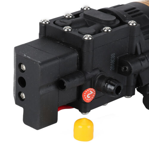12V 5L High Pressure Diaphragm Water Pump For RV Caravan Boat Garden 100PSI