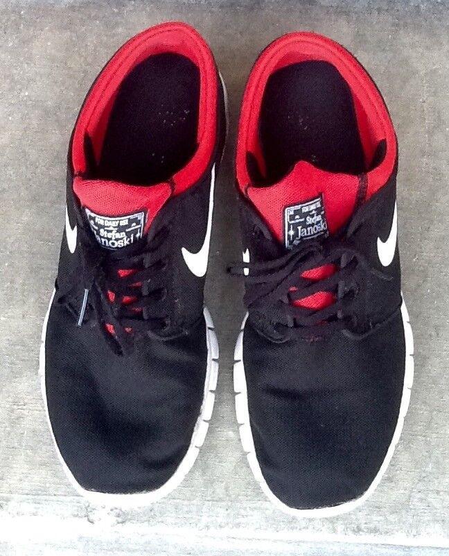 Nike Mens Stefan Janoski Max SB Skateboarding Shoes size 9 1/2