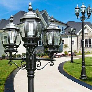 Kandelaber Wege Lampe Garten Aussen Steh Leuchte Stehlampe Laterne