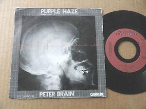 DISQUE-45T-DE-PETER-BRAIN-AND-BRAIN-TRICK-034-PURPLE-HAZE-034