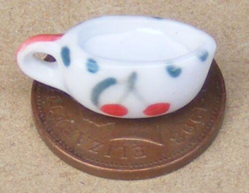 1:12 Brocca in ceramica /& Latte Casa delle Bambole Miniatura Accessorio Da Cucina Motivo Ciliegie J12