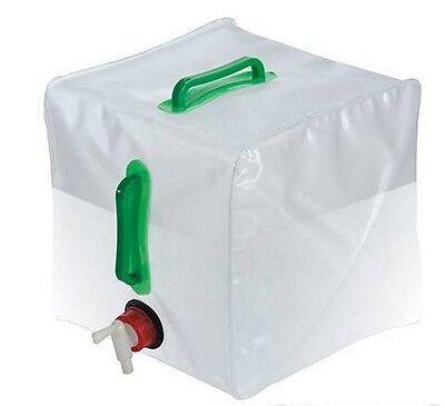 Camping & Outdoor 20l Wasser Träger Behälter Faltbar Zusammenklappbar Mit Hahn Zelten Flasche Hohe Belastbarkeit Wasserkanister