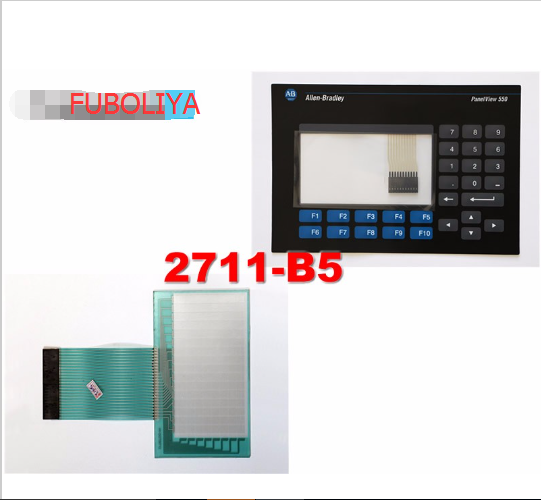Touch Screen for Panelview 550 2711-B5A2 Membrane Keypad