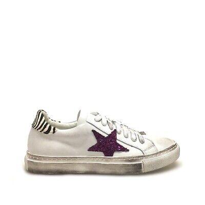 Sneakers Donna Bianche Platform Pitone