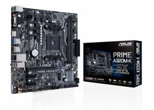 Details about ASUS PRIME A320M-K Motherboard, AM4, Micro ATX, 2 DDR4, VGA,  HDMI, M 2, RAID