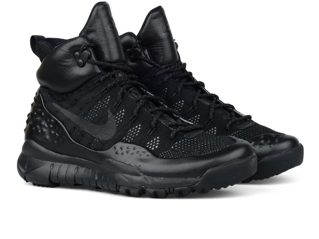 0d09af46a5e82 Nike Lupinek Flyknit Men`s Trainers shoes All All All Black 862505 002  0fc89f