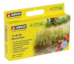 Noch-HO-Wasserlilien-14140-Laser-Cut-minis-Modelleisenbahn-Hobby-Zubehoer