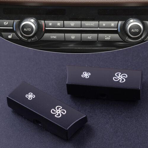 2x Taste AC Klimaautomatik Regler Schalter Druckknopf für BMW 5ER F10 F11 10-16