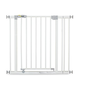 Hauck Open N Stop stair gate including 9 cm extension gate guard for children,