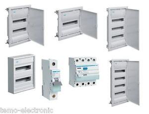 Hager-Verteiler-Sicherungskasten-Unterverteilung-Unterputz-Aufputz-Hohlraum