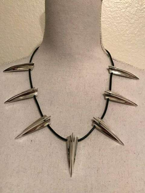 04762f23c6442 Black Panther Necklace Wakanda King T'challa Cosplay Costume Jewelry US