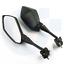 Rear-Side-Rearview-Mirrors-Pour-Yamaha-YZF600-YZF-R1-R6-R3-R125-R25-R15-2003-19 miniature 5